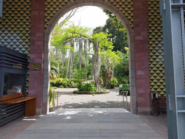 Entrada al Jardín Botánico de Puerto de la Cruz