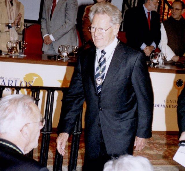Hans Küng, miembro de la Academia de Yuste