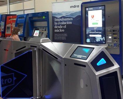 Indra moderniza los tornos de acceso a Metro de Madrid con tecnología que permitirá entrar con el móvil