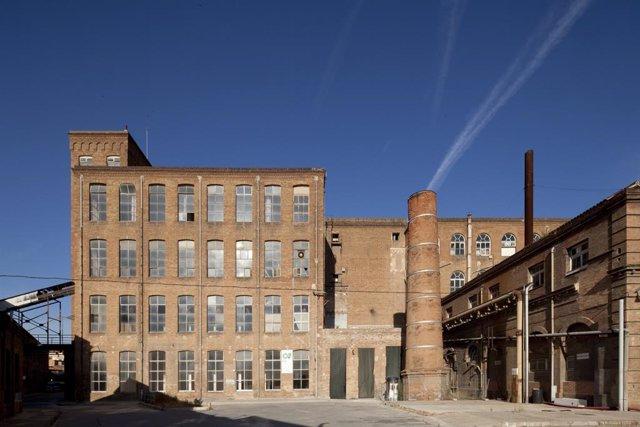Archivo - Arxiu - El recinte de l'antiga fàbrica Fabra i Coats.