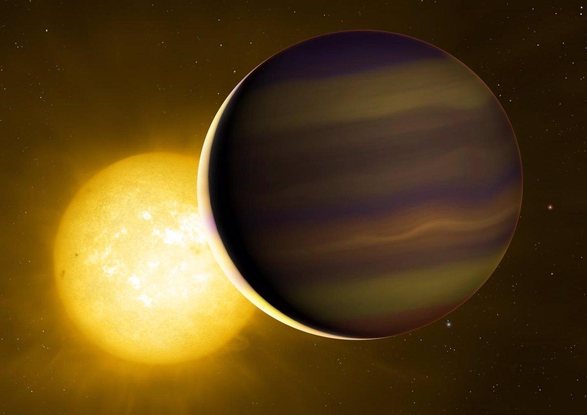 La huella química del primer exoplaneta en tránsito revela su origen
