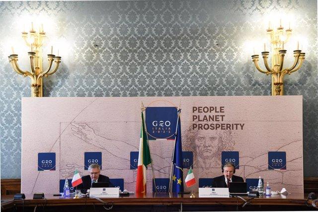 Archivo - Reunión del G20 de Finanzas. 07/04/2021.