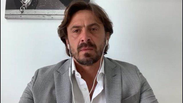 Archivo - El presidente de Cehat, Jorge Marichal.