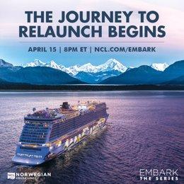 Norwegian Cruise Line estrena la docuserie sobre su vuelta al mar.