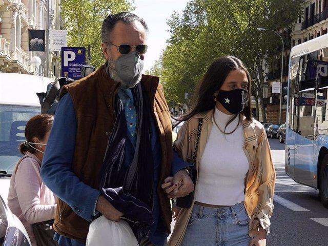 Jaime de Marichalar y Victoria Federica saliendo de restaurante