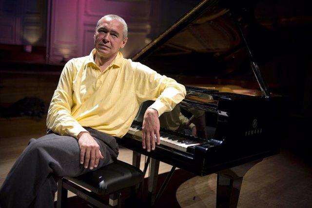 Archivo - El pianista Ivo Pogorelich.
