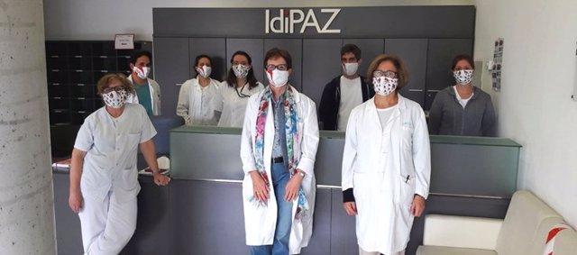 U754 CIBERER en el Hospital La Paz de Madrid.
