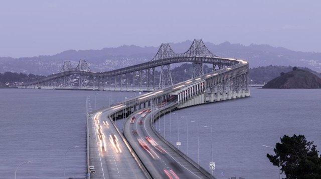 Archivo - Puente de San Rafael, en Richmond (California) que ACS rehabilitará