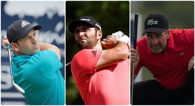 Sergio García, Jon Rahm y José María Olazabal estarán en Augusta