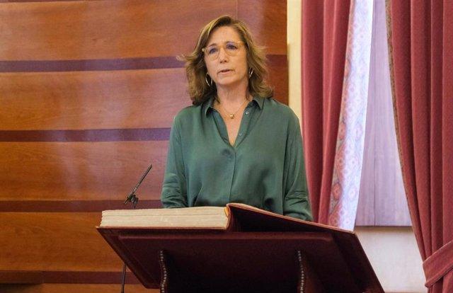 Carmen Núñez, nueva presidenta de la Cámara de Cuentas de Andalucía, en una foto de archivo.