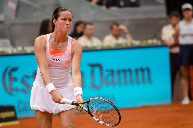 Archivo - La tenista española Lara Arruabarrena