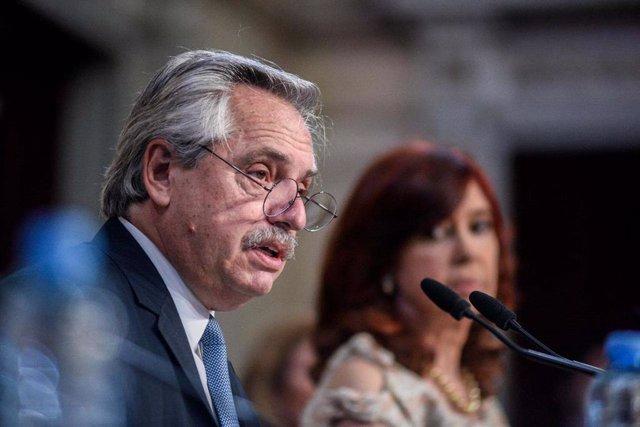 Archivo - El presidente de Argentina, Alberto Fernández.