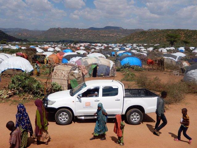 Archivo - Cerca de 700.000 personas se han desplazado a la región de Somali, en Etiopía, a lo largo de los últimos años a causa de la violencia étnica, especialmente desde la región de Oromia, según datos de la Matriz de Seguimiento de Desplazamientos (DT
