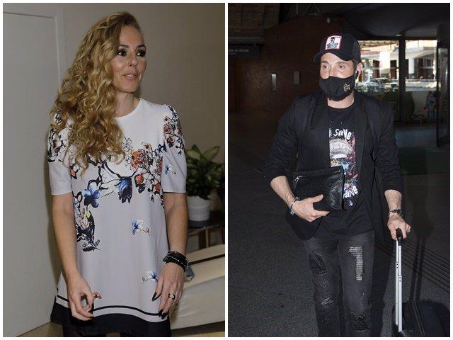 Rocío Carrasco y Antonio David Flores