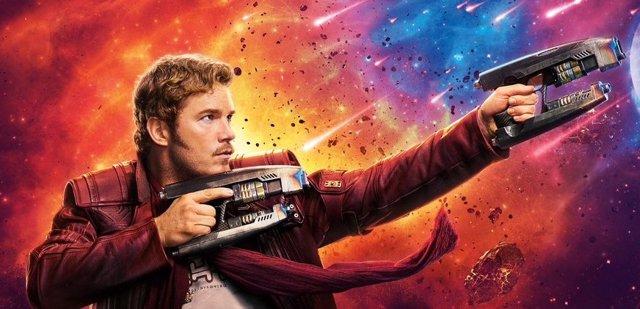 Archivo -    Chris Pratt es Star-Lord en Guardianes de la Galaxia de Marvel