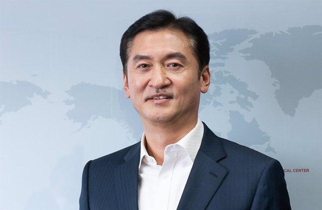 Archivo - Il Taik Jung, nuevo presidente y consejero delegado de Kumho Tire.