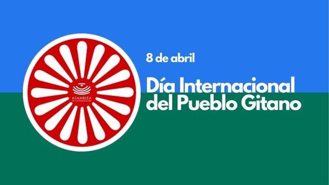 Cartel por el Día Internacional del Pueblo Gitano