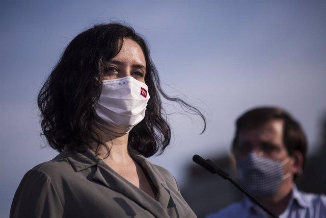 La presidenta de la Comunitat de Madrid i candidata a la reelecció, Isabel Díaz Ayuso (Arxiu)