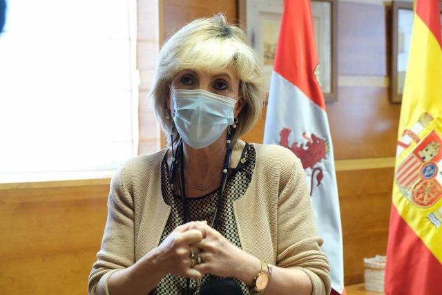 La consejera de Sanidad, Verónica Casado. Archivo