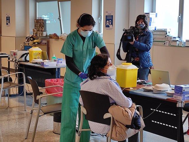 Vacunación AstraZeneca La Rioja
