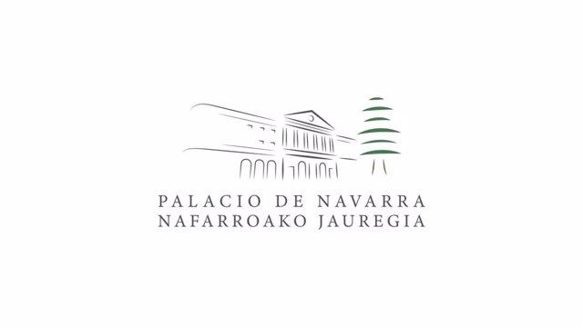 El Palacio de Navarra, sede del Gobierno foral, estrena logotipo propio.