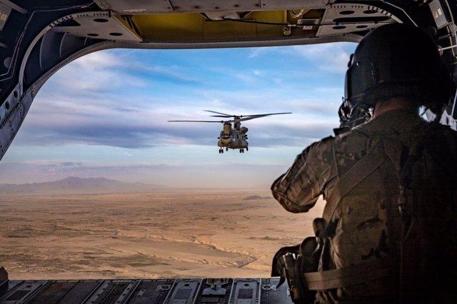 Archivo - Militares estadounidenses en Afganistán