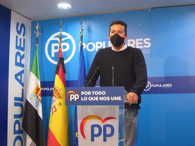 El diputado del PP en el Congreso Víctor Píriz