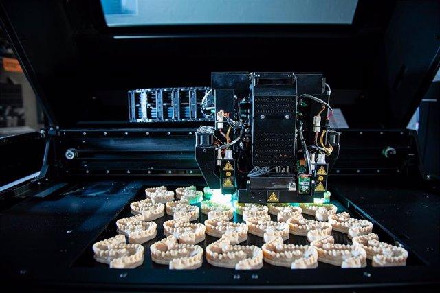 Archivo - Impresora 3D del proyecto 'INKplant'.