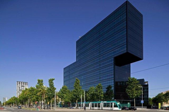 Archivo - Arxiu - Edifici d'oficines Diagonal 123 de Barcelona.