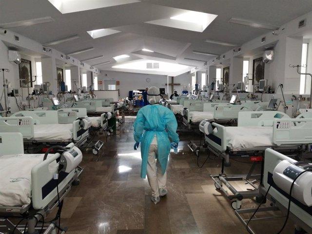 Capilla del Hospital Virgen de las Nieves habilitada como UCI