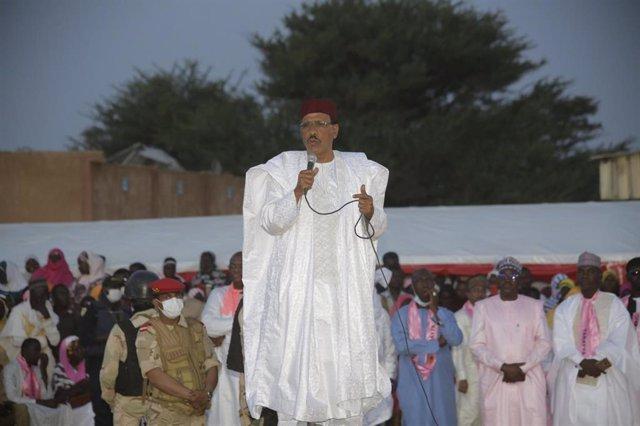 Archivo - Mohamed Bazoum, candidato a la Presidencia de Níger
