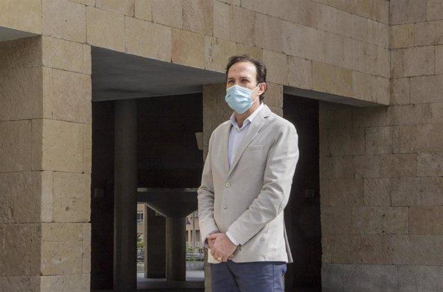 El concejal de Cs en Logroño, Javier Garijo