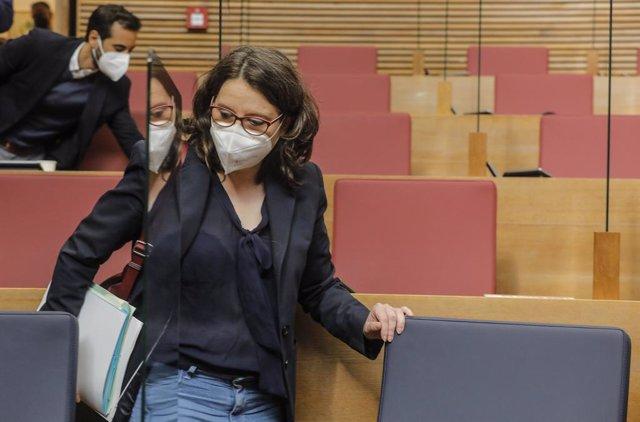 La vicepresidenta i Portaveu del Govern Valencià, Mónica Oltra