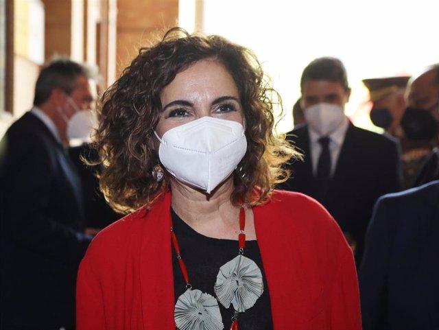 La ministra de Hacienda y portavoz del Gobierno, María Jesús Montero, en una fotografía de archivo