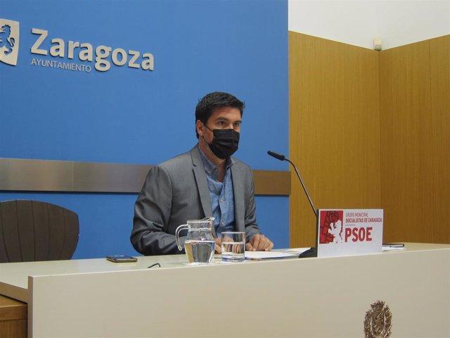 El concejal del grupo municipal del PSOE, Horacio Royo