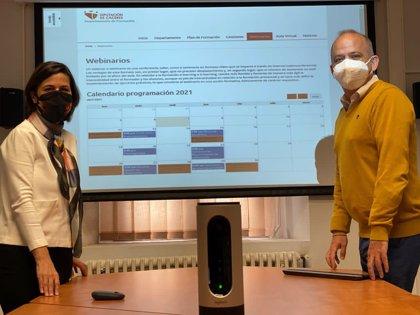 La Diputación de Cáceres abre un canal de webinarios para los empleados y cargos públicos de la provincia