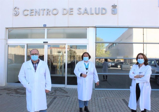 Los farmacéuticos del Servicio de Farmacia de Atención Primaria de la Gerencia de Atención Integrada de Albacete