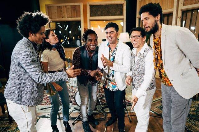 El Grupo Cuban Jazz Syndicate en una imagen de archivo
