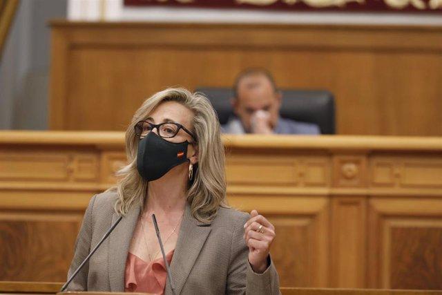 La portavoz del PP en las Cortes, Lola Merino