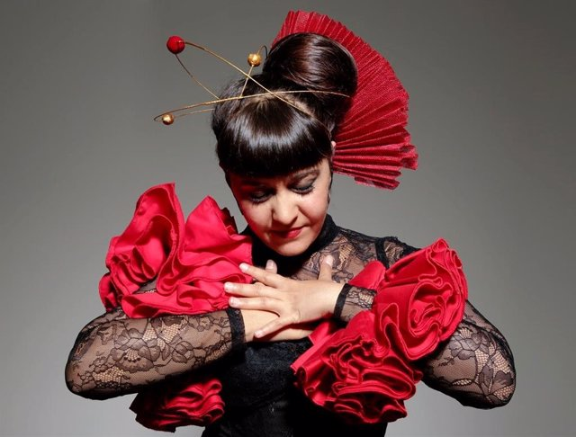 Archivo - La artista de flamenco Mau