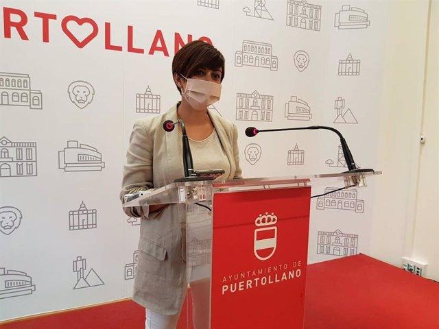 La alcaldesa de Puertollano, Isabel Rodríguez