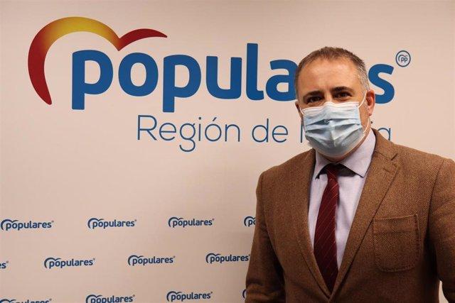 El vicesecretario de Organización del PPRM, Francisco Abril