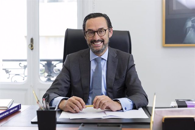 Archivo - Enrique Sanz, presidente Mutualidad Abogacía