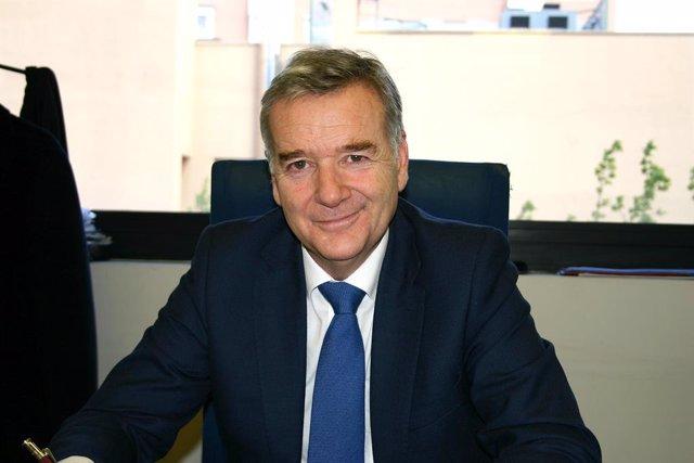 Presidente y director ejecutivo de Terratest, Enrique Torres