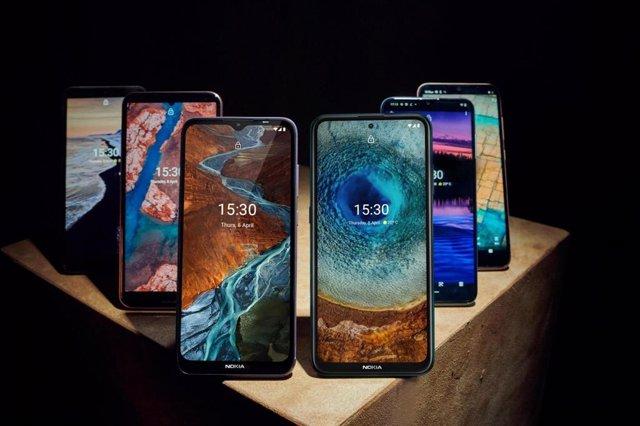 Nuevas series X, G, C de Nokia