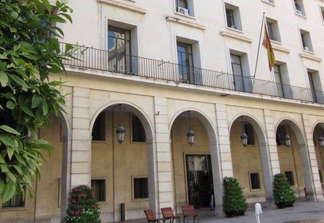 Archivo - Imagen de archivo de la Audiencia de Alicante