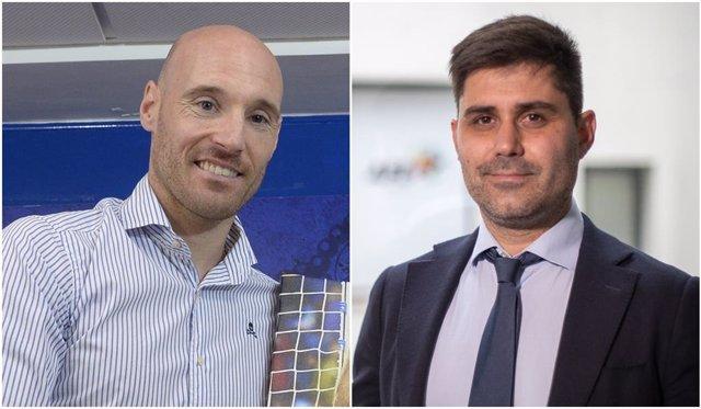 Gaizka Toquero y David Aganzo, candidatos a la presidencia de AFE