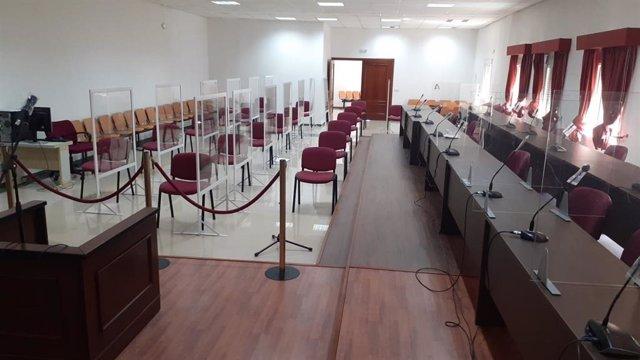 Sala de la Audiencia de Algeciras