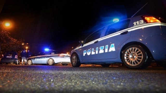Archivo - Coche de la Polizia di Stato.