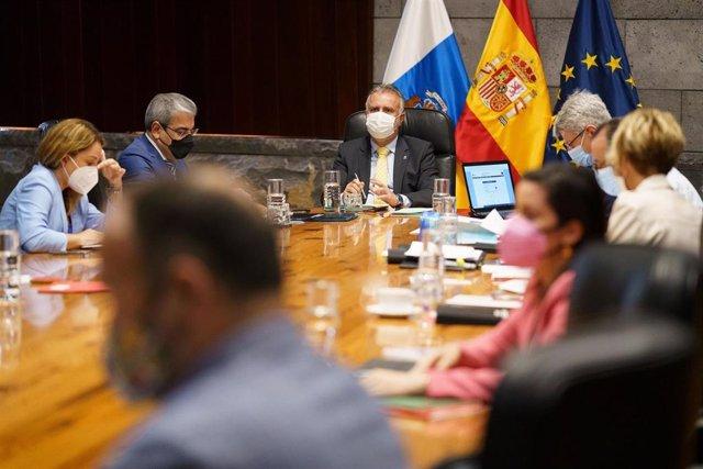 Sesión del Consejo de Gobierno de Canarias
